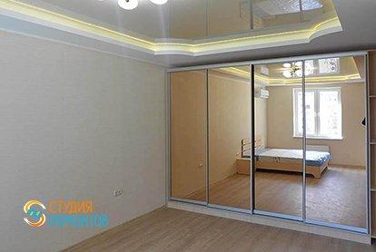 Капремонт спальни в малогабаритной хрущевке 34 кв.м., фото-2