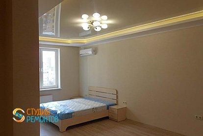 Капремонт спальни в малогабаритной хрущевке 34 кв.м., фото-1
