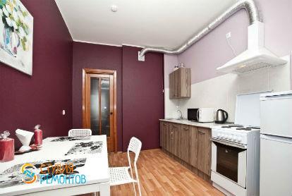 Ремонт кухни в однокомнатной новостройке 38 кв. м. под ключ