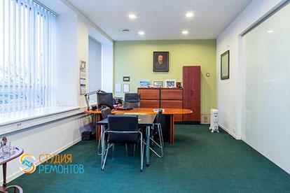 Евроремонт офиса 15 м2