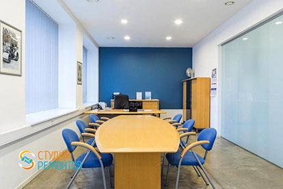 Евроремонт в офисе 15 квадратных метров