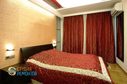 Ремонт спальни под ключ 16 кв.м.