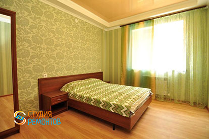 Ремонт спальни под ключ 21 кв.м.