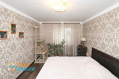 Капитальный ремонт спальни в хрущевке 11 кв.м.