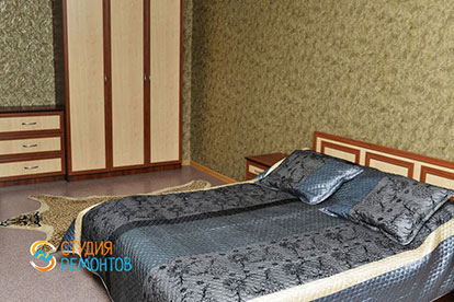 Косметический ремонт спальни в хрущевке 11 кв.м.