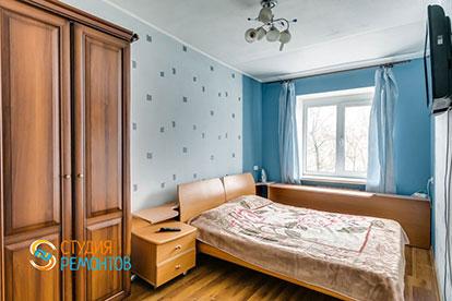 Косметический ремонт спальни в хрущевке 13 кв.м.