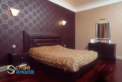 Евроремонт спальни 12 кв.м.