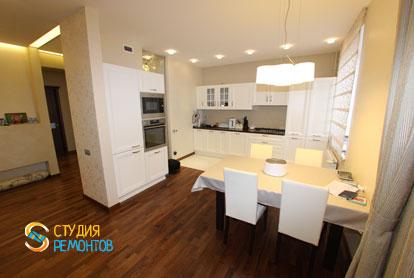 Ремонт кухни в студии 36,6 кв.м.