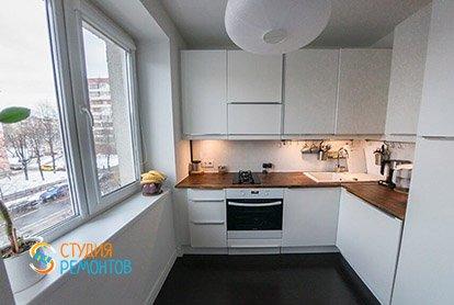 Евроремонт комнаты и кухни в квартире-студии 34 м2 в хрущевке, фото-1