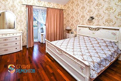 Ремонт спальни в таунхаусе 43 м2 под ключ