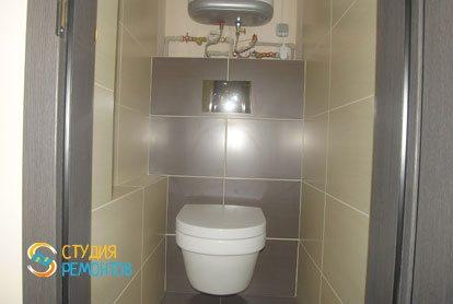Ремонт туалета 2 м2 под ключ