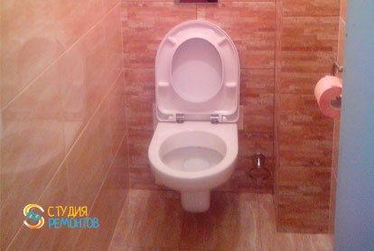 Ремонт туалета под ключ 1,2 м2