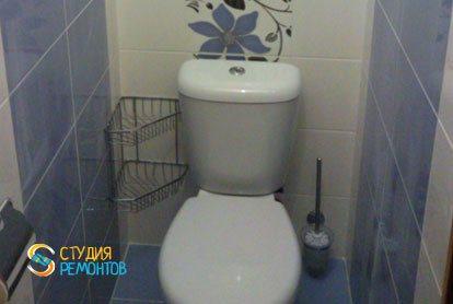 Ремонт туалета под ключ 1,6 м2
