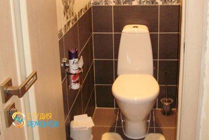 Ремонт туалетной комнаты под ключ 2 м2