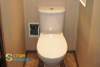 Капремонт туалета 1,6 кв.м.