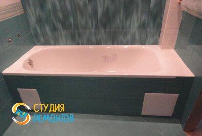 Ремонт ванной комнаты под ключ 6 м2