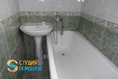 Ремонт ванной под ключ 4,5 кв.м.