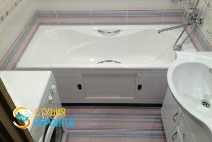 Ремонт ванной под ключ 6,5 кв.м. фото-1