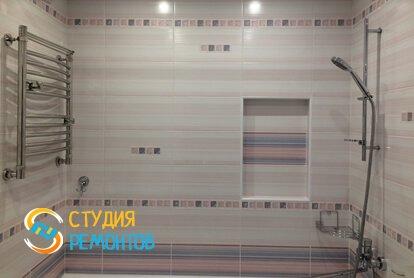 Ремонт ванной под ключ 6,5 кв.м. фото-2