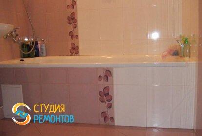 Ремонт ванной под ключ 6 м2