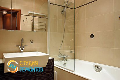 Отделка ванной панелями 10 кв.м.