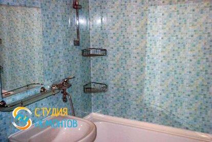 Отделка ванной панелями 7 кв.м.