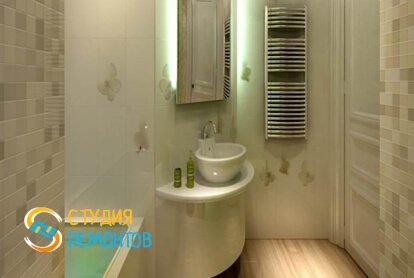 Отделка ванной панелями 9,4 кв.м.