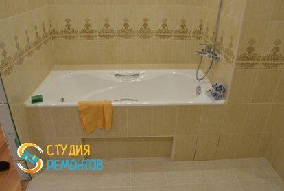 Отделка ванной комнаты 6 кв.м.