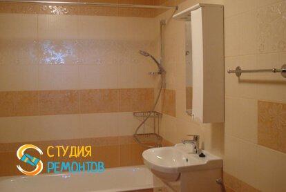 Отделка ванной комнаты плиткой 7,5 м2