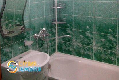 Отделка ванной 6 м2