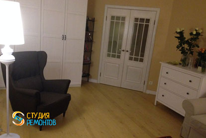 Ремонт комнаты в квартире 31 кв.м. в стиле прованс фото 2