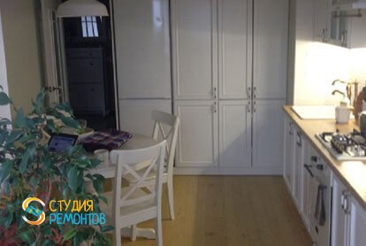 Ремонт кухни в квартире 31 кв.м. в стиле прованс
