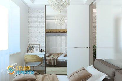 Ремонт спальни в квартире 61 кв. м. в классическом стиле