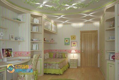 Евроемонт детской комнаты 12 кв.м.