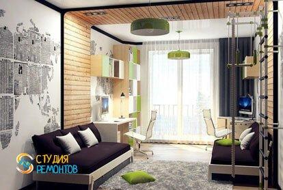 Евроремонт детской комнаты 10 кв.м.