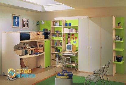 Евроремонт детской комнаты 9 кв.м.