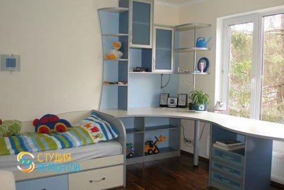 Капитальный ремонт детской комнаты 10 кв.м.