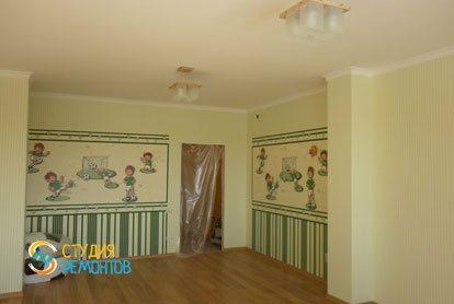 Косметический ремонт детской комнаты 12 кв.м.