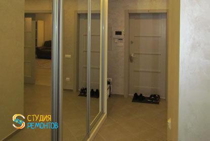 Евроремонт коридора в трехкомнатной новостройке 71,5 кв.м.