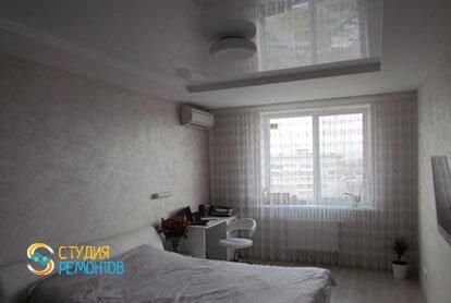 Евроремонт спальни в трехкомнатной новостройке 71,5 кв.м.