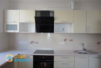 Капитальный ремонт кухни в новостройке 68 кв.м.