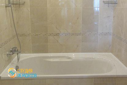 Капитальный ремонт ванной в новостройке 68 кв.м.