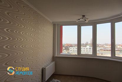 Капитальный ремонт комнаты в новостройке 68 кв.м.