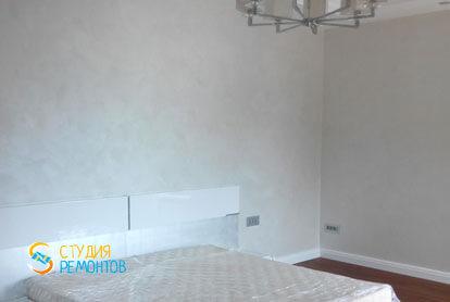 Косметический ремонт спальни в новостройке 60,5 кв.м. фото 2