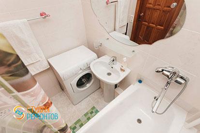 Капремонт ванной комнаты однокомнатной квартиры 20 метров в Одинцово