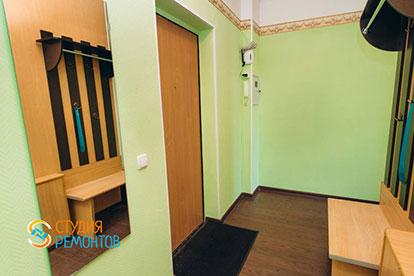 Косметический ремонт коридора двухкомнатной квартиры 32,5 м2 в Одинцово фото-1
