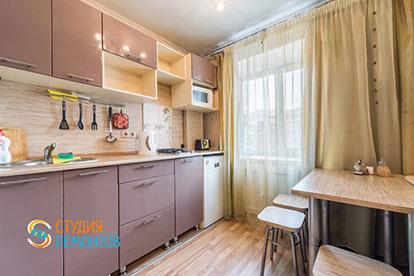 Косметический ремонт кухонной зоны квартиры-студии 27,3 кв.м в Одинцово