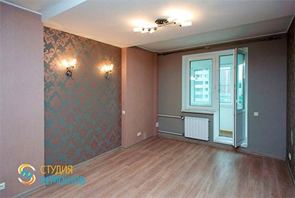 Капитальный ремонт комнаты 18м2