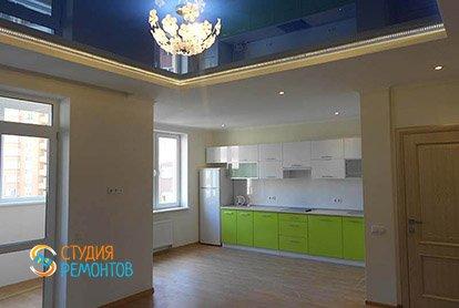 Капитальный ремонт спальни с кухней в квартире студии 28 м2, фото-1