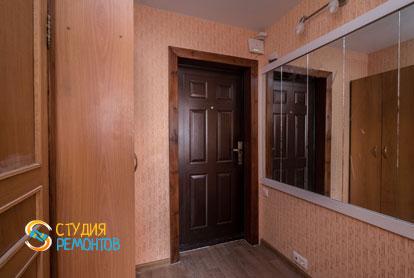 Косметический ремонт коридора в однокомнатной квартире 37,5 кв.м.